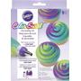 Acoplador De Tres Colores Color Swirl, Marca Wilton