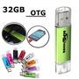 Memoria 32g 32gb Usb 2.0 Flash Para Otg Phone Tablet Pc