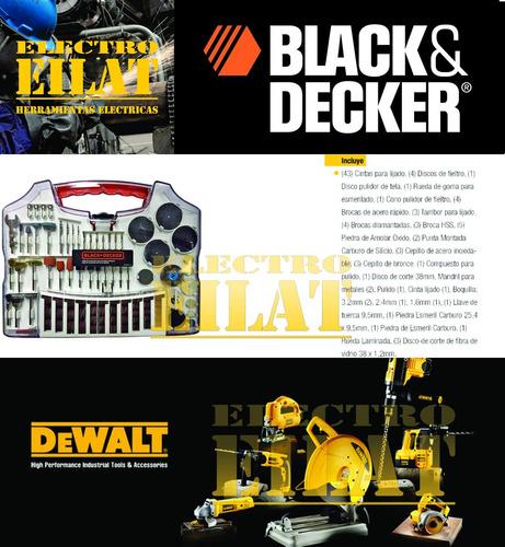 accesorios minitorno black decker 93 piezas bda3038 eilat