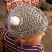 Gorro Vikingo Bebe Tejido Crochet