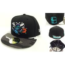 Charlotte Hornets New Era Exclusivo Gorro Snapback Fitte Nba