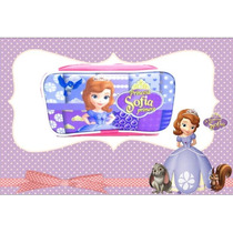 Cartuchera Portacosmético Princesa Sofia Disney Cotillon
