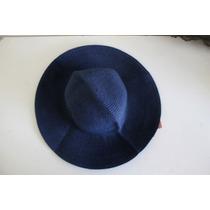 Sombrero Fibras Naturales Azul Marino The Reformation S