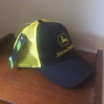 Gorros John Deere Negro-amarillo Originales
