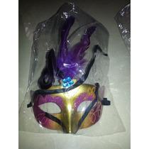 Antifaz Mascara De Carnaval Disfraz Fiesta Y Hora Loca