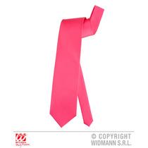 80's De Disfraces - Corbata Rosada De Neón Del Lazo Par