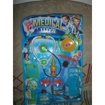 Juego Para Jugar Al Doctor Medical Toys 12 Piezas