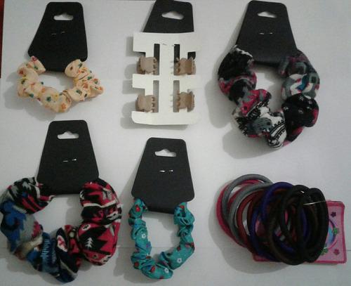 accesorios nuevos y más(pulseras,caravanas,maquillaje,etc)