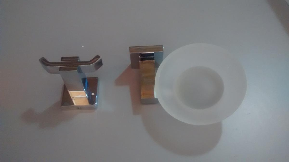 Juego de accesorios para ba o mod 4700 cromo for Accesorios para banos toalleros