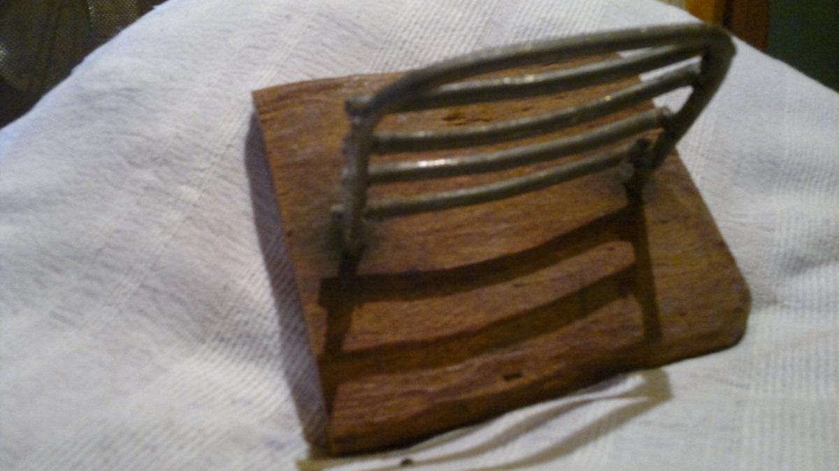 Accesorios para ba o artesanal madera y hierro for Accesorios para bano mercadolibre