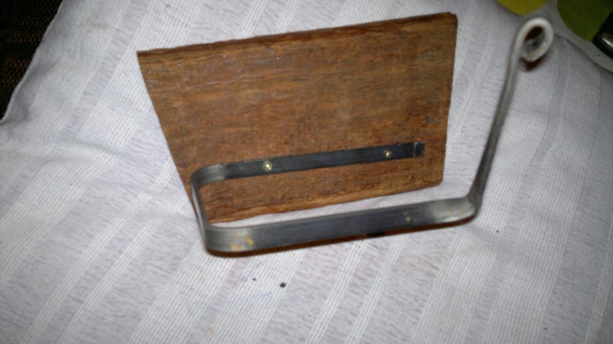 Accesorios para ba o artesanal madera y hierro - Accesorios de bano en madera ...