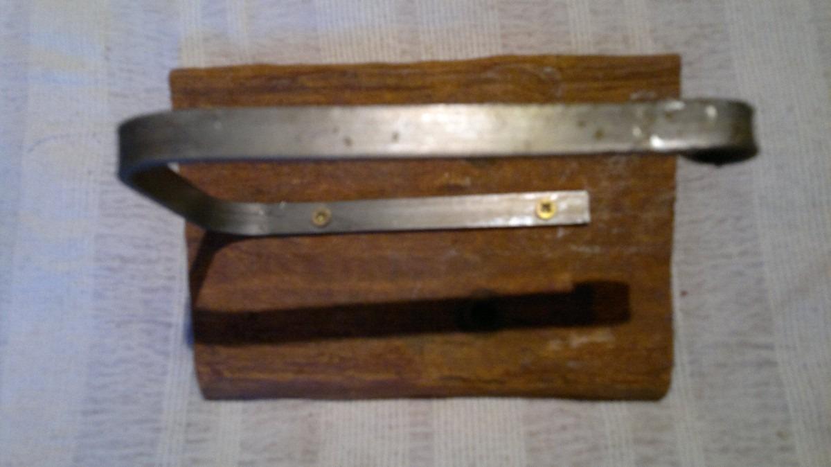 Accesorios para ba o artesanal madera y hierro for Accesorios bano madera
