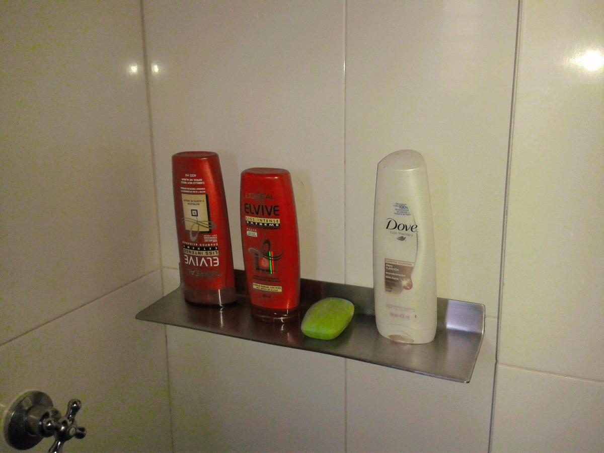 Accesorios para ba o porta shampoo de acero inoxidable - Accesorios bano acero inoxidable ...