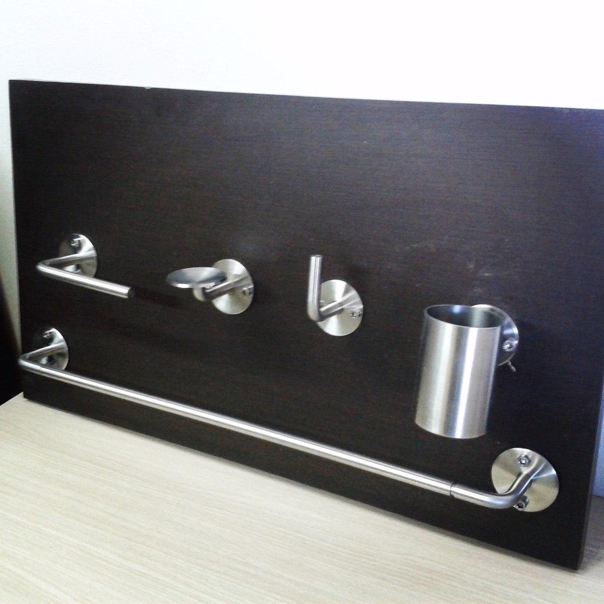 cf2f3841232 accesorios para baño. porta toallas de acero inoxidable. Cargando zoom.