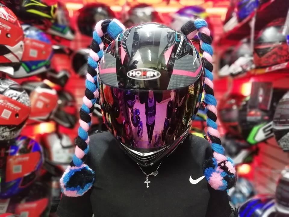 51497cd7c5bb5 Accesorios Para Cascos Moto De Mujer Y De Hombre - S  36