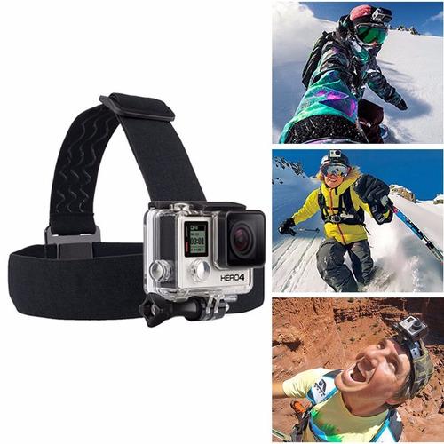 accesorios para gopro y similares - pechera y arnes p/cabeza