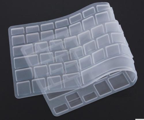 accesorios para macbook: protector de teclado; jebes ...