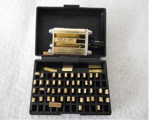 accesorios para maquina termica de codigos y fechas
