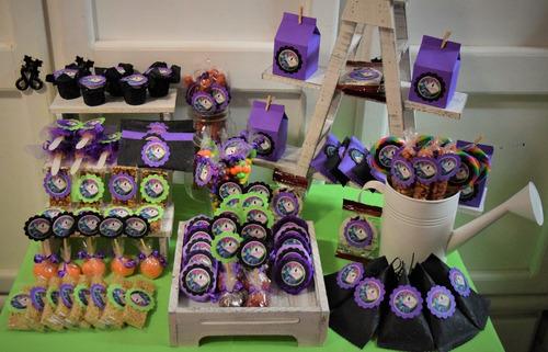accesorios para mesa de dulces, candy bar modelo 13