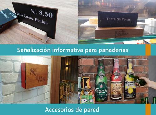 accesorios personalizados para restaurantes bares hoteles