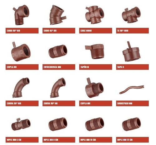 accesorios polipropileno oferta xcambio rubro ips 165 piezas