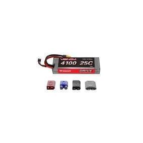Venom 25c 2s 4100mah 7 4v Hard Case Lipo Battery With Traxxa