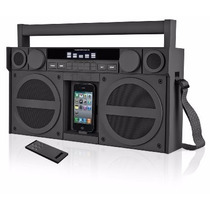 Cornetas Ihome Estilo Retro Boombox (ipod 4g / Aux Y Radio)