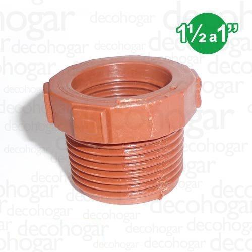 accesorios riego conexiones polipropileno buje red 1½ a 1