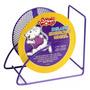 Lw Rueda Hamster Chino Deluxe Malla 12,5 Cm Morada