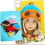 Lindos Gorros Tipo Piloto Para Niños De 1 - 4 Años