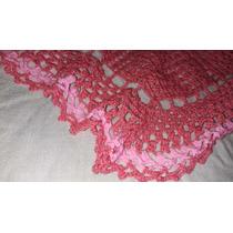 Manta Tejida A Mano En Crochet Para Niña