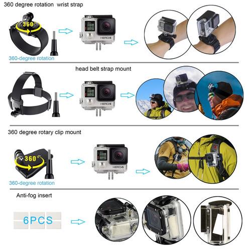 accesorios sony action cam adaptador gopro 7 hero sjcam