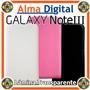 Estuche Cuero Samsung Galaxy Note3 N9000 Forro Protector Iii