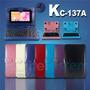 Estuche Funda Con Teclado En Colores Para Tablet 7 Cuero