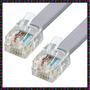 Cable Para Telefono (no Del Auricular) Nuevo De 0.80mts