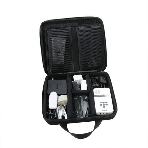 accesorios universales de electrónica bolsa de viaje rígida