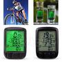 Velocímetro Odómetro Computador Para Bicicleta Lcd Luz Pc