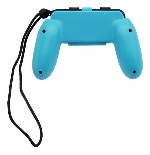 accesorios x2 nintendo switch grip de juego para joy con