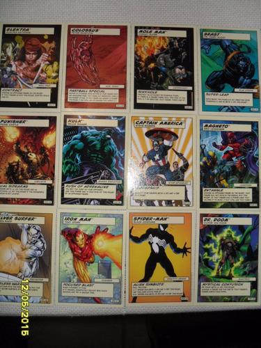 accesorios y tarjetas marvel universe showdown! nuevos!