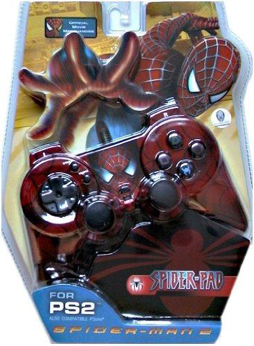 accesorios,cojín brillante spider-man para playstation 2..