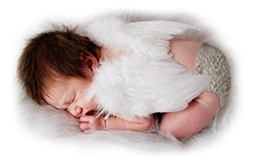 accesorios,fashionwings (tm) white feather angel wings &..