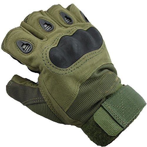 accesorios,guantes dealzip inc guante mitones caza verde..