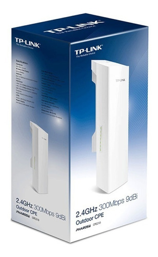 access point tp-link tl-cpe210 300mbps 9dbi 2.4ghz pc