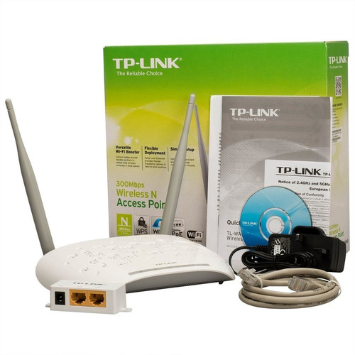 access point tp-link tl-wa801nd dos antenas 300 mbps