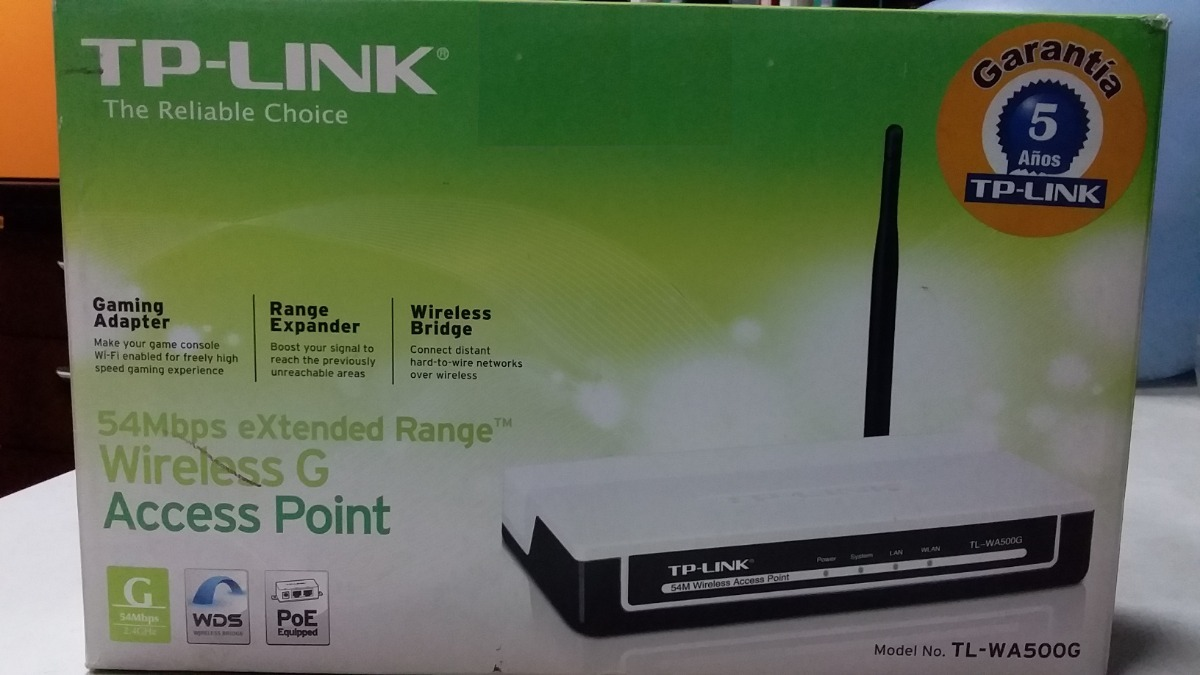 TP-LINK TL-WA500G Access Point Driver for Windows 7