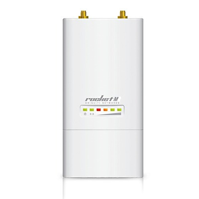 access point ubiquiti rocketm2 mimo 2,4ghz ap 24v/ 300mbps