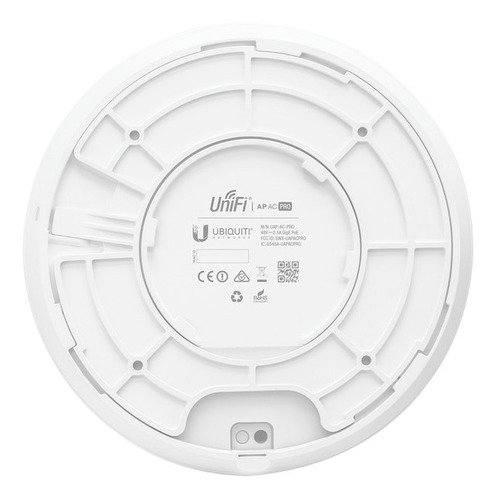 access point ubiquiti uap-ac-pro 2.4 - 5 ghz 1750 mbps