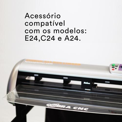accessorio mesa plana de acrilico p/ plotter foison 24  72cm