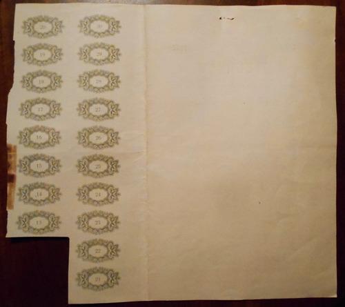 accion antigua de wecheco una accion 100 pesos m/n año 1957