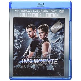 d00799c384 Divergente Serie Insurgente Colectors Edition Bluray + Dvd